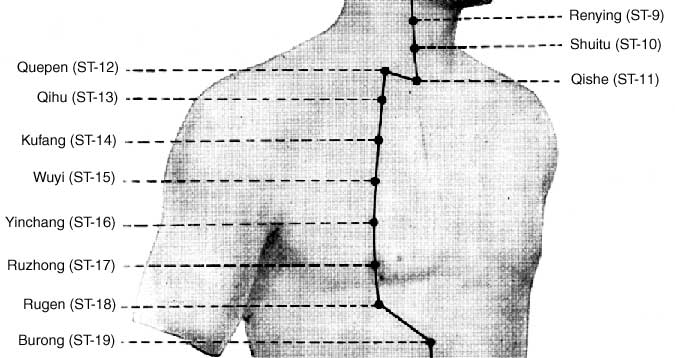 stomach channel chest